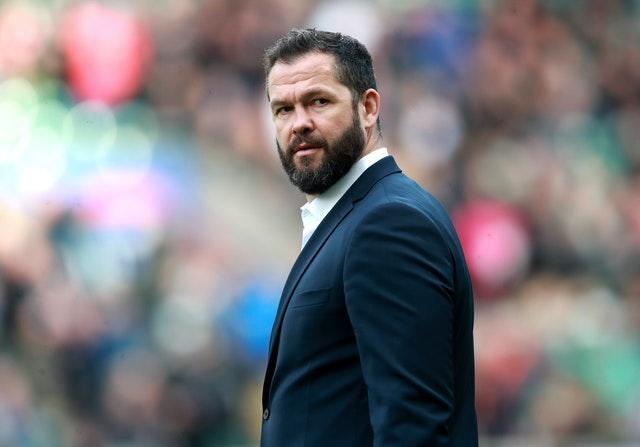 Ireland head coach Andy Farrell has a selection dilemma in the second row