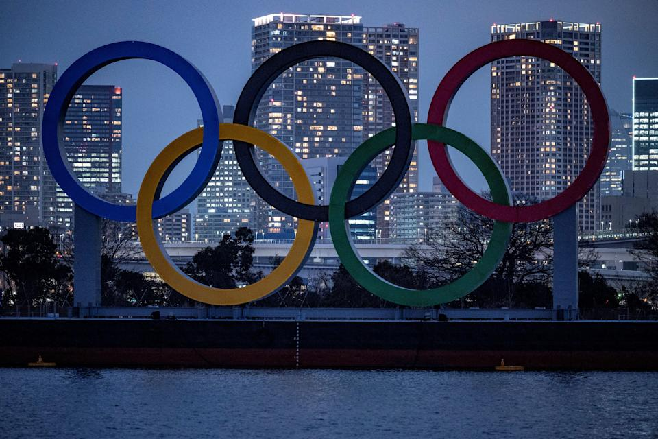 <p>Covid threat: The Tokyo Olympic Games have already been delayed by a year due to coronavirus</p> (AFP via Getty Images)