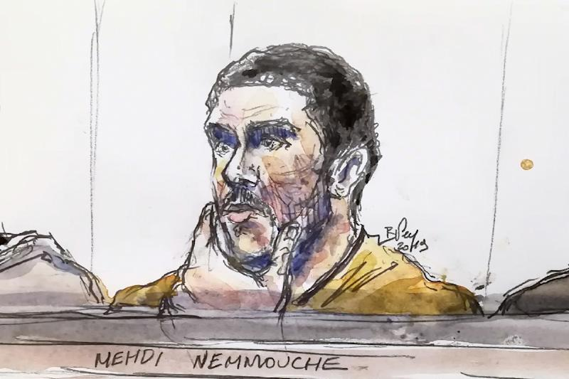 Mehdi Nemmouche killed the four victims in less than 90 seconds (AFP Photo/BENOIT PEYRUCQ)