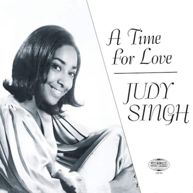 The cover of A Time For Love, which Judi Singh recorded in 1970 with Tommy Banks. The album used
