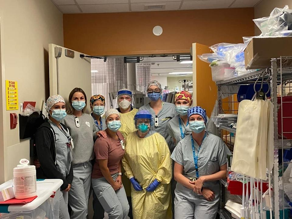 Seven doctors and nurses have flown out from Newfoundland to help at the Fort McMurray hospital. (Jennifer Richard - image credit)