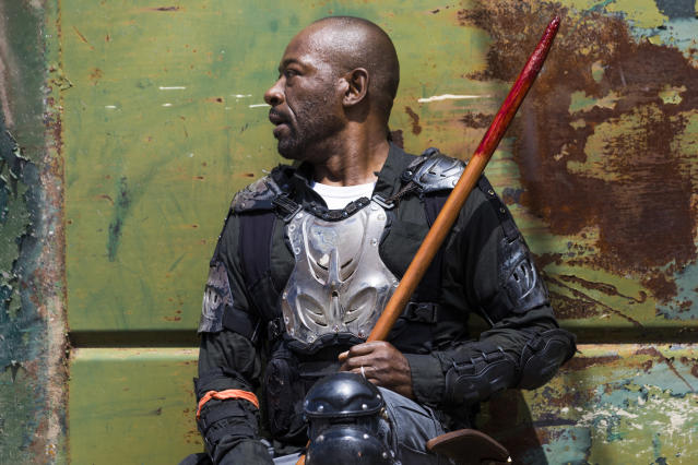 <p>Lennie James as Morgan Jones in AMC's <i>The Walking Dead</i>.<br>(Photo: Jackson Lee Davis/AMC) </p>