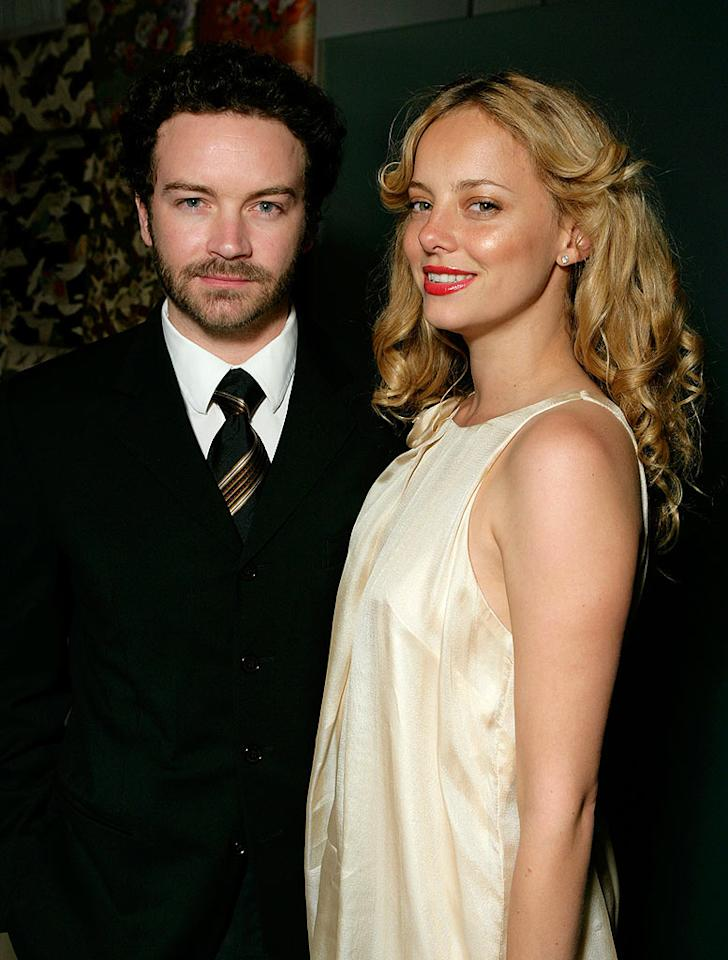 "Danny Masterson and his gal pal Bijou support the project, which was co-founded by fellow Scientologist Tom Cruise to help 9/11 rescue workers. But is it really just a ploy to suck them into the world of Scientology? Todd Williamson/<a href=""http://www.wireimage.com"" target=""new"">WireImage.com</a> - March 28, 2008"