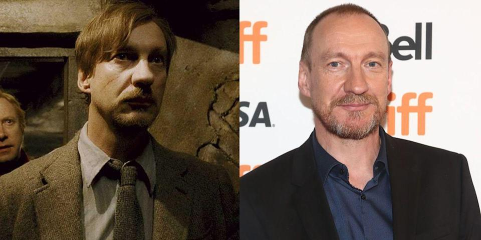 <p><strong>First Film: </strong><em>Harry Potter and the Prisoner of Azkaban</em></p><p><strong>Character Played: </strong>Remus Lupin</p><p><strong>Age: </strong>57</p><p>Thewlis was apart of yet another blockbuster film with his role in 2017's <em>Wonder Woman</em>. He also starred in season 3 of FX's <em>Fargo</em>.<em><br></em></p>