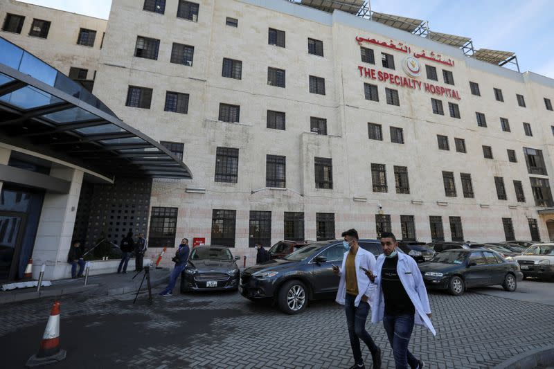 Jordan expands hospital capacity as it grapples with major spike in the coronavirus disease (COVID-19) deaths