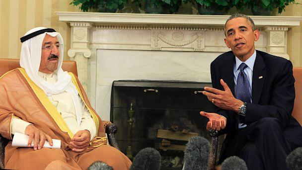 GTY obama sabah al ahmed al sabah jef 130913 16x9 608 Obama Hopeful Syria Talks Will Bear Fruit