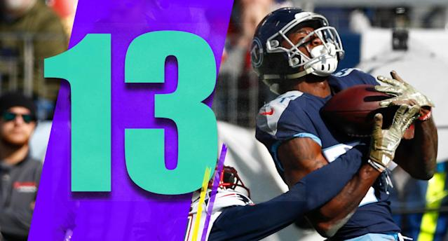 <p>Up and down we go. The Titans looked good grinding out tough wins early on, were miserable for a stretch, then won at Dallas and blasted the Patriots in the span of seven days. You figure out what's coming next. (Corey Davis) </p>