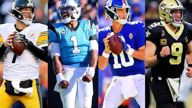 Big-name quarterbacks Drew Brees, Ben Roethlisberger, Eli Manning and Cam Newton are all set to miss Week 3.