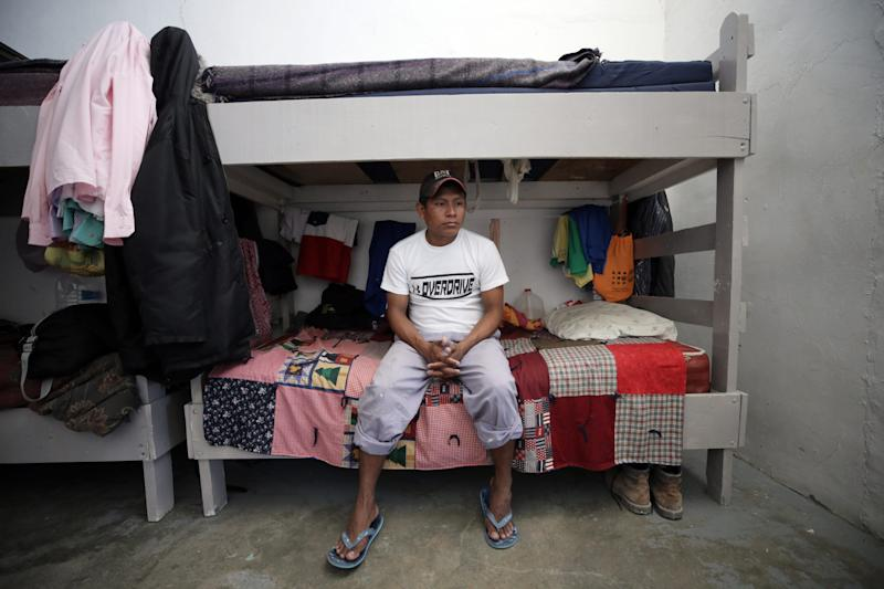 JUAREZ, Mexico – Guatemalan asylum seeker Baltazar Izep has decided to return to his home country after receiving a court date in February for his asylum case. He's now waiting at the Albergue Para Migrantes el Buen Pastor in Juarez, Chihuahua, Mexico, as his family tries to raise enough money to get him home.