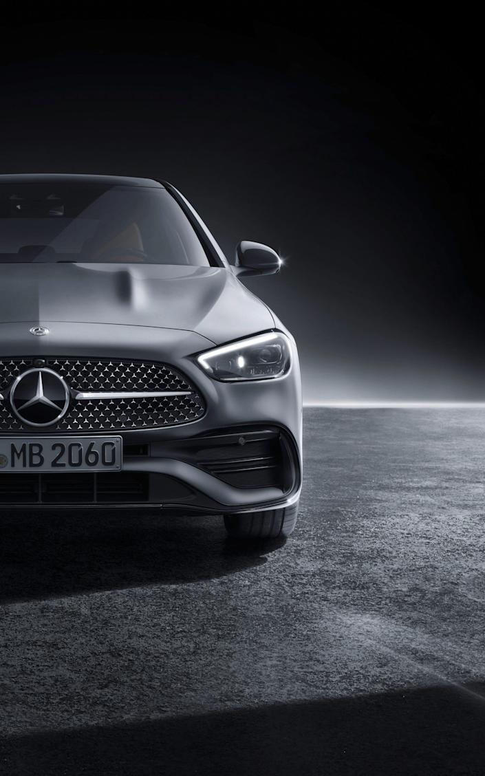 2022 Mercedes Benz C Class sedan._13