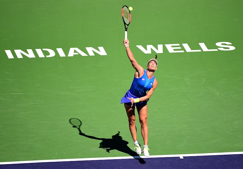Tennis - Kerber breezes into third round at Indian Wells