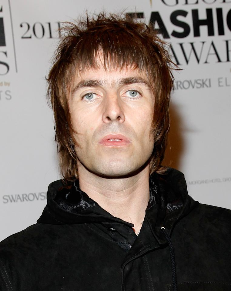 NEW YORK, NY - OCTOBER 20:  Musician and singer-songwriter, Liam Gallagher attends the WGSN Global Fashion Awards at Gotham Hall on October 20, 2011 in New York City.  (Photo by Mark Von Holden/Getty Images for WGSN Global Fashion Awards)