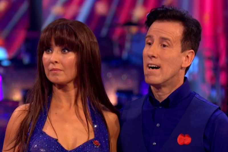 Criticism: Du Beke, pictured with Emma Barton, hit back on Saturday night (BBC)