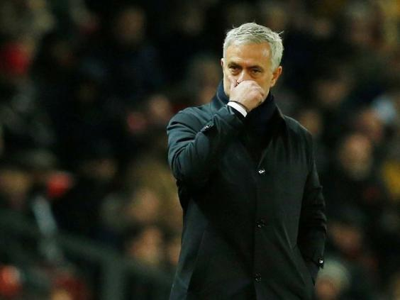 Jose Mourinho tasted defeat for the first time as Tottenham manager (Reuters)