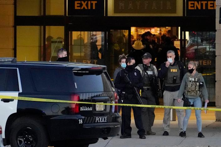 A 15-year-old boy is accused of shooting up a mall in a suburb of Milwaukee, Wisconsin. Eight people were injured, none were killed.  (AP)
