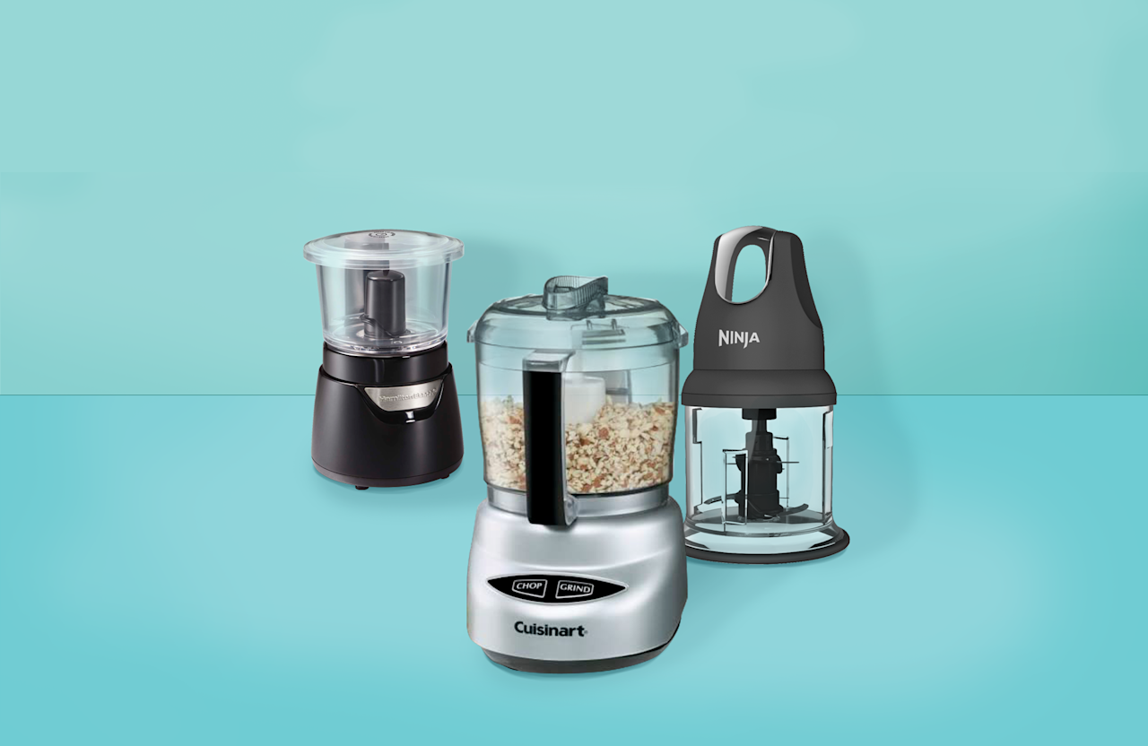 "<p>A mini food processor is a great way to speed up your prep work whether you're making dinner for two or doing <a href=""https://www.goodhousekeeping.com/food-recipes/a28377603/how-to-meal-prep/"">meal prep like a pro</a>. A full-size <a href=""https://www.goodhousekeeping.com/appliances/a26064214/best-food-processors-review/"">food processor</a> can be worth the kitchen real estate, but (as the name suggests) a mini food processor doesn't take up a lot of counter space, which is great in apartment kitchens or dorm rooms (and easier to clean!).</p><p>Mini food processors are useful in any kitchen because <strong>they</strong> <strong>produce even results without the elbow grease of chopping by hand </strong>and they don't require any knife skills or knowledge of <a href=""https://www.goodhousekeeping.com/cooking-tools/best-kitchen-knives/a33661706/how-to-sharpen-a-kitchen-knife/"">how to sharpen</a> a knife for tasks like chopping vegetables, fruits, herbs, nuts and cheeses, <a href=""https://www.goodhousekeeping.com/childrens-products/g30499018/best-baby-food-makers/"">prepping homemade baby food</a>, or making small batches of vinaigrette, pesto, salsa, or sauces.  </p><h2 class=""body-h2"">How we test food processors</h2><p>The <a href=""https://www.goodhousekeeping.com/institute/about-the-institute/a19748212/good-housekeeping-institute-product-reviews/"">Good Housekeeping Institute</a>'s Kitchen Appliances and Technology Lab has tested more than 30 food processors, including mini food processors in recent years. For the minis, we assessed each one's ability to chop onions (with both the minimum and maximum load), mince parsley, and grind Parmesan cheese. We took note of how quickly each model performed these tasks and how much food was left unprocessed. We also checked the ease of use: How helpful is the owner's manual? How easy are the blades and lid to assemble? How intuitive and easy are the controls? What range of settings are included? How easy is it to clean?</p><p>Those that came out on top made our list of <strong>the best mini food processors. </strong>Our r<strong></strong>ecommendations include tried-and-true favorites as well as new models that have unique features like glass bowls for storing, whipping accessories, or cordless power. Though we haven't tested them all formally in the Lab, they come from Lab-trusted brands and years of experience testing kitchen appliances:</p><ul><li><strong>Best Overall Mini Food Processor: </strong><a href=""https://www.amazon.com/Cuisinart-DLC-2ABC-Processor-Brushed-Chrome/dp/B0000645YM/ref=sr_1_1"">Cuisinart Mini-Prep Plus Food Processor<strong></strong></a></li><li><strong>Best Value Mini Food Processor: </strong><a href=""https://www.walmart.com/ip/Ninja-Express-Chop/54944989"">Ninja Express Chop</a>    </li><li><strong>Easiest to Use Mini Food Processor:</strong> <a href=""https://www.walmart.com/ip/Hamilton-Beach-Stack-Press-3-Cup-Glass-Bowl-Chopper-Model-72860/40292513"">Hamilton Beach Stack & Press 3-Cup Glass Bowl Chopper <strong><br></strong></a></li><li><strong>Best Cordless Mini Food Processor: </strong><a href=""https://www.amazon.com/KitchenAid-KFCB519VB-Cordless-Chopper-Velvet/dp/B08BQPPLZ6/ref=sr_1_1"">KitchenAid Cordless Chopper</a>             <strong><br></strong></li><li><strong>Best Mini Food Processor for Beginners:</strong> <a href=""https://www.amazon.com/Philips-Kitchen-HR2505-26-Multichopper/dp/B01N4L4FAG/ref=sr_1_1_sspa"">Philips Multi Chopper</a> </li><li><strong>Best Mini Food Processor Food Prep: </strong><a href=""https://www.amazon.com/DECKER-EHC3002B-Chopper-Contains-Black/dp/B00NPYK13Y/ref=sr_1_16"">Black + Decker Glass Bowl Chopper</a>    <strong><br></strong></li><li><strong>Best Mini Food Processor for Liquids:</strong> <a href=""https://www.walmart.com/ip/KitchenAid-3-5-Cup-Food-Chopper-KFC3516MY/685239292?selected=true"">KitchenAid 3.5-Cup Food Chopper</a> </li></ul>"