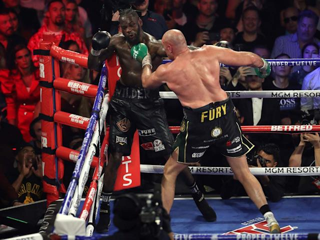 Tyson Fury has been subject to conspiracy theories over his gloves in his win over Deontay Wilder: PA