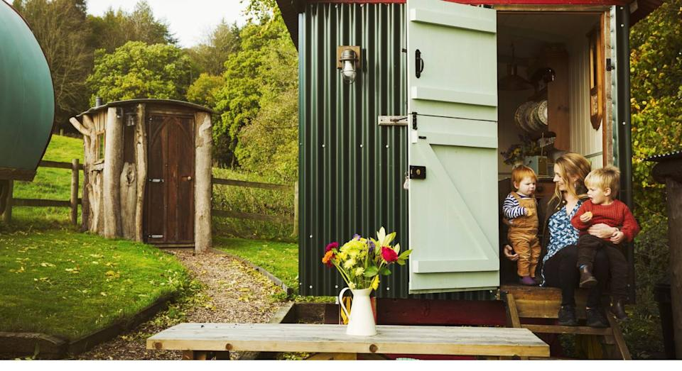 These are the best garden sheds –  whatever your budget. (Getty Images)