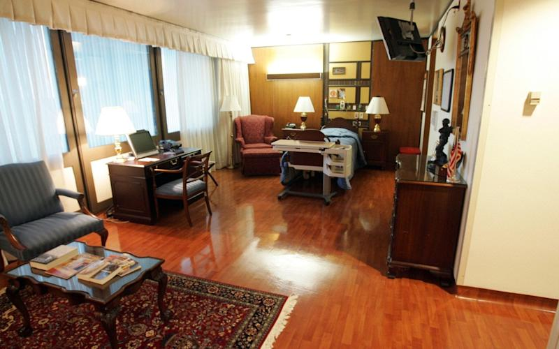 The Suite is intended for use by General officers and Cabinet level government officials. - USA TODAY Network