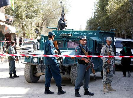 Blast near Shiite mosque in Afghan capital causes casualties