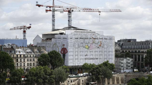 "Pollution, nuisances sonores: les riverains du chantier de la Samaritaine en ont ""ras-le-bol"""