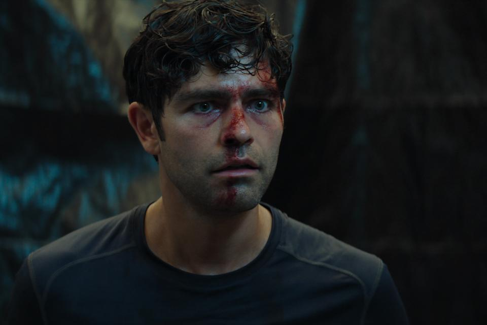 Nick Brewer (Adrian Grenier) has just found out Clickbait can be worse than annoying... it can be deadly. Picture: Netflix