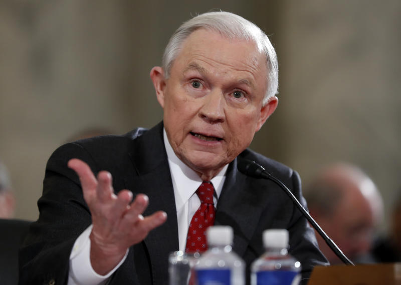 Questions and answers about perjury, Sessions' statements