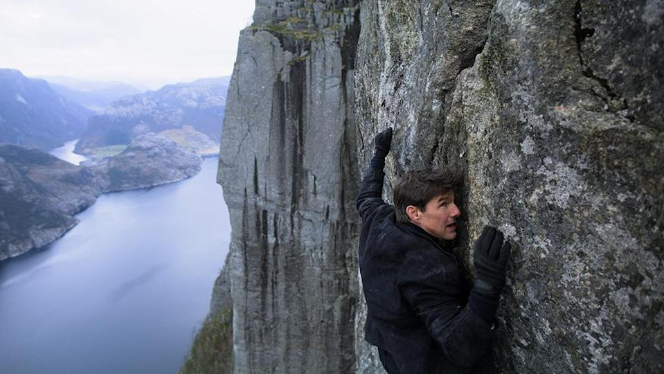 Tom Cruise in Misson: Impossible – Fallout (Credit: Paramount)