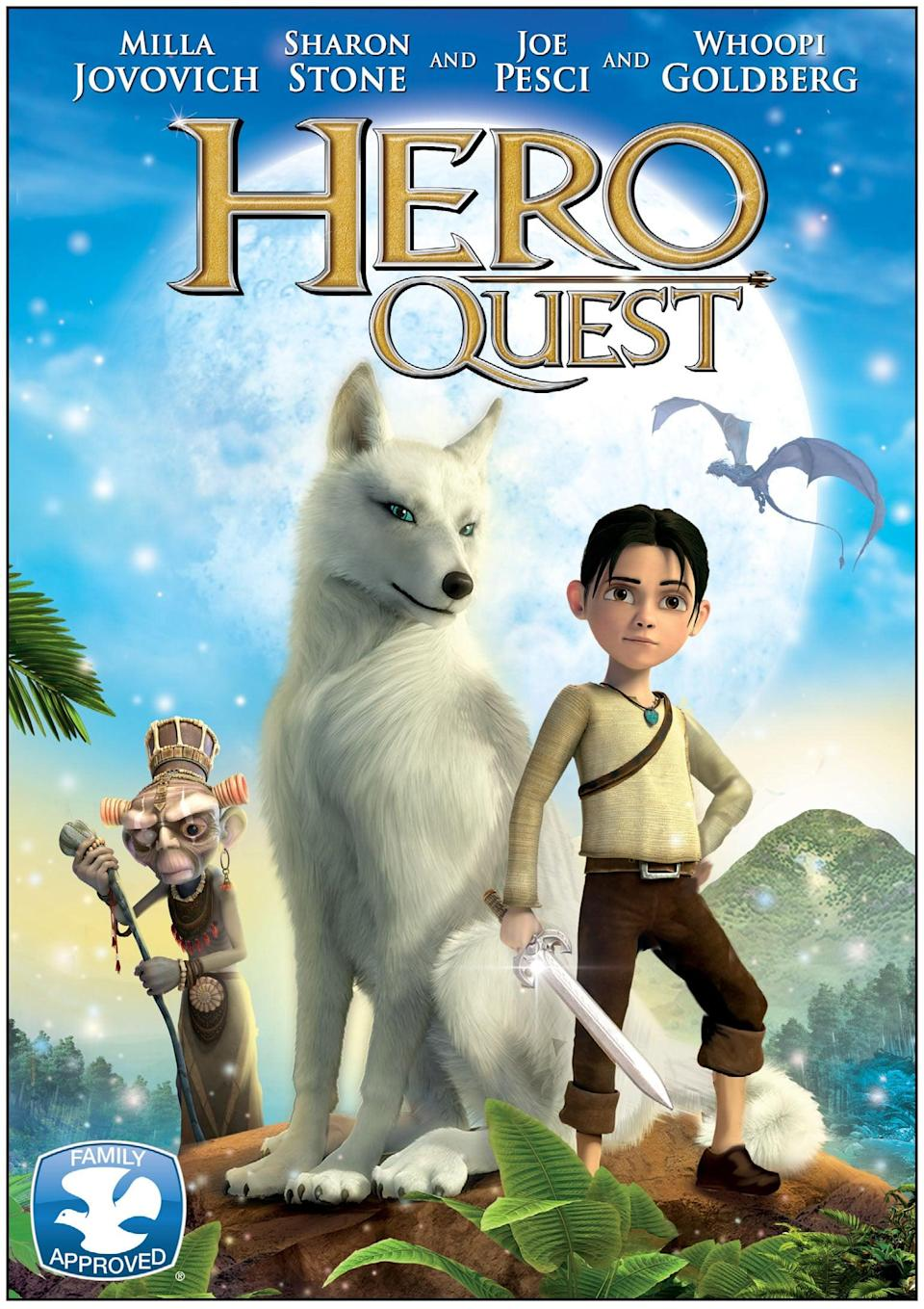 "<p><strong>Tubi's Description:</strong> ""When his village is threatened by hyenas, a courageous boy embarks on a quest to find the legendary wolves that once protected his people.""</p> <p><a href=""https://tubitv.com/movies/468344/hero-quest"" class=""link rapid-noclick-resp"" rel=""nofollow noopener"" target=""_blank"" data-ylk=""slk:Watch Hero Quest on Tubi now!"">Watch <strong>Hero Quest</strong> on Tubi now!</a></p>"