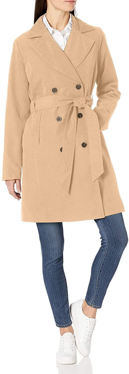 <p><span>Amazon Essentials Water-Resistant Trench Coat</span> ($51)</p>