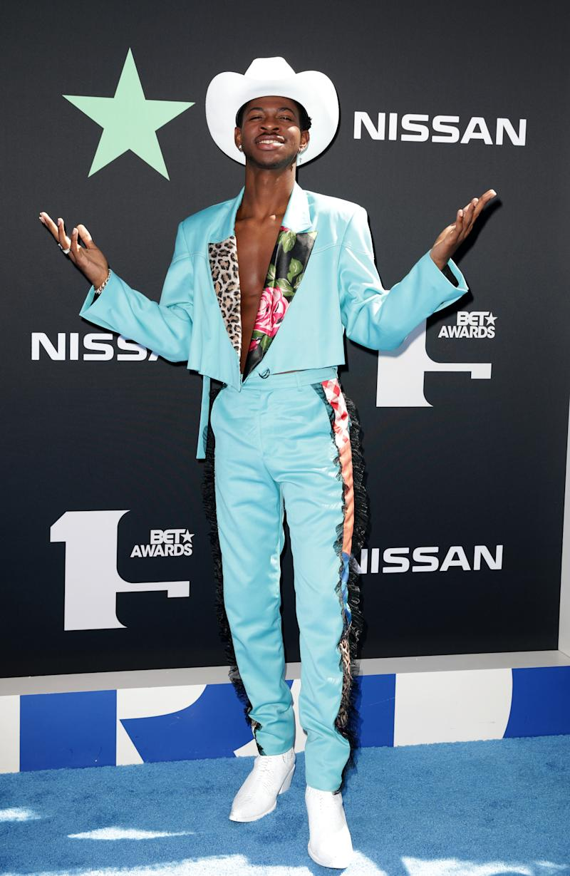 2019 BET Awards – Arrivals - Los Angeles, California, U.S., June 23, 2019 - Lil Nas X. REUTERS/Monica Almeida