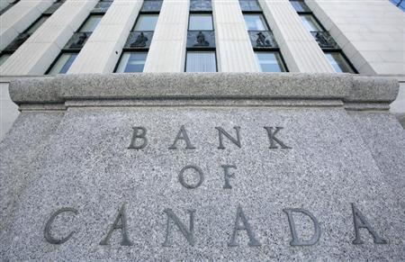 The Bank of Canada building is pictured in Ottawa