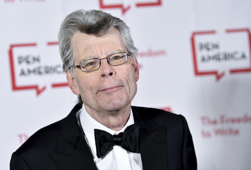 PEN literary service award recipient Stephen King attends the 2018 PEN Literary Gala at the American Museum of Natural History on Tuesday, May 22, 2018, in New York. (Photo by Evan Agostini/Invision/AP)