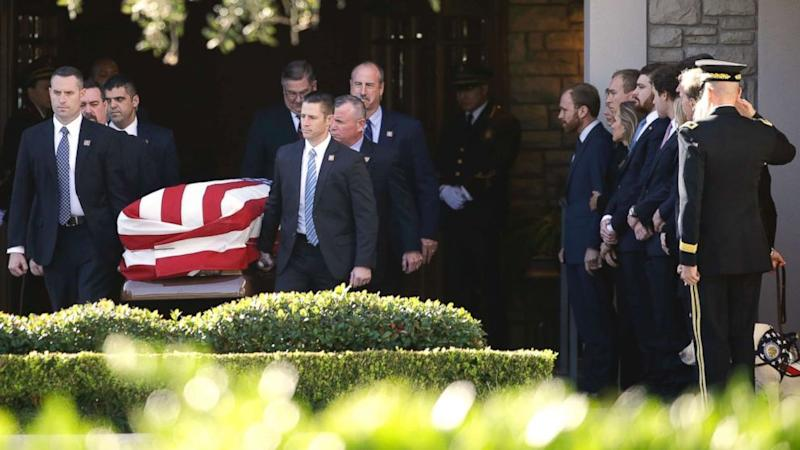 George H W Bush In Washington For Final Honors Before Burial In Texas