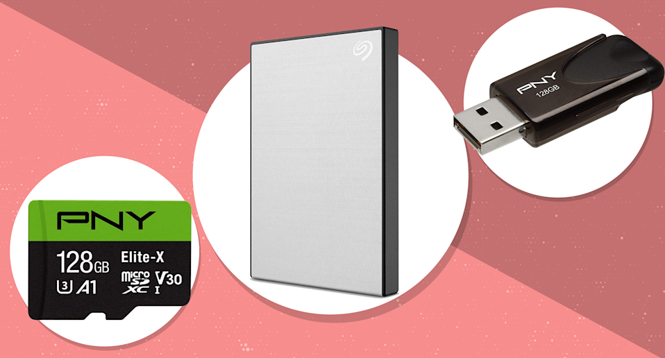 Save up to 46 percent on data storage from Seagate, Western Digital and more, today only. (Photo: Amazon)