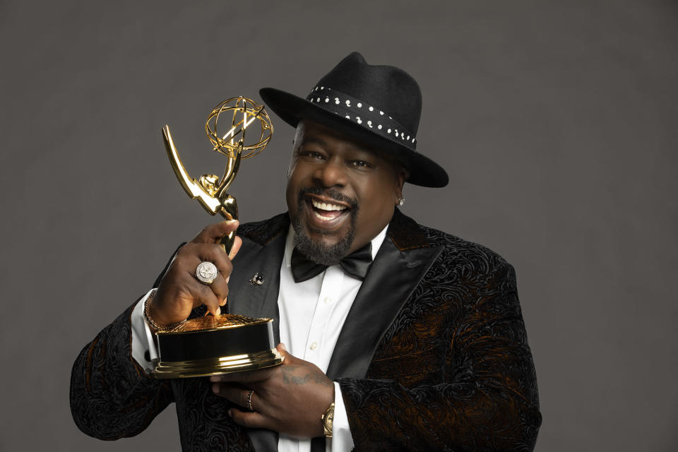 Cedric the Entertainer, Host of the 73rd Annual Primetime Emmy Awards. - Credit: Cliff Lipson/CBS