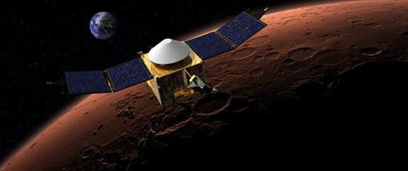 Mars-Bound Probes Built by India and NASA Are Nearing the Red Planet