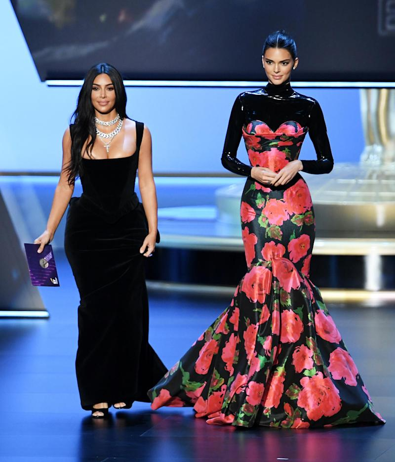 Kim Kardashian-West and Kendall Jenner (Getty Images )