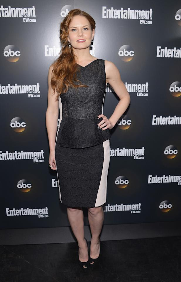 "Jennifer Morrison (""Once Upon a Time"") attends the Entertainment Weekly and ABC Upfront VIP Party at Dream Downtown on May 15, 2012 in New York City."