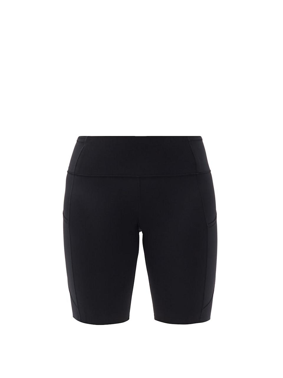 """<p>Bicycle shorts are often overlooked as being merely loungewear, but they can look smart-casual when paired with an oversize shirt and crisp white trainers.</p><p><a class=""""link rapid-noclick-resp"""" href=""""https://go.redirectingat.com?id=127X1599956&url=https%3A%2F%2Fwww.matchesfashion.com%2Fproducts%2FLululemon-Fast-and-Free-high-rise-10%2522-shorts-1410409&sref=https%3A%2F%2Fwww.townandcountrymag.com%2Fuk%2Fstyle%2Fg35807920%2Ftransitional-clothing%2F"""" rel=""""nofollow noopener"""" target=""""_blank"""" data-ylk=""""slk:SHOP NOW"""">SHOP NOW</a></p><p>£58, LuluLemon at MatchesFashion.com.</p>"""