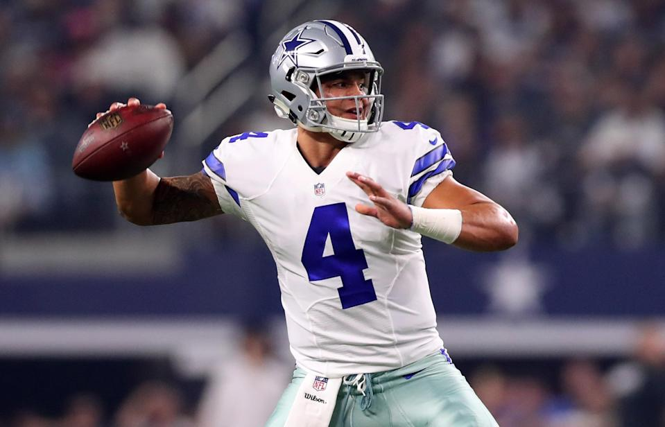 Dak Prescott exceeded expectations as a rookie in 2016. (Tom Pennington/Getty Images)