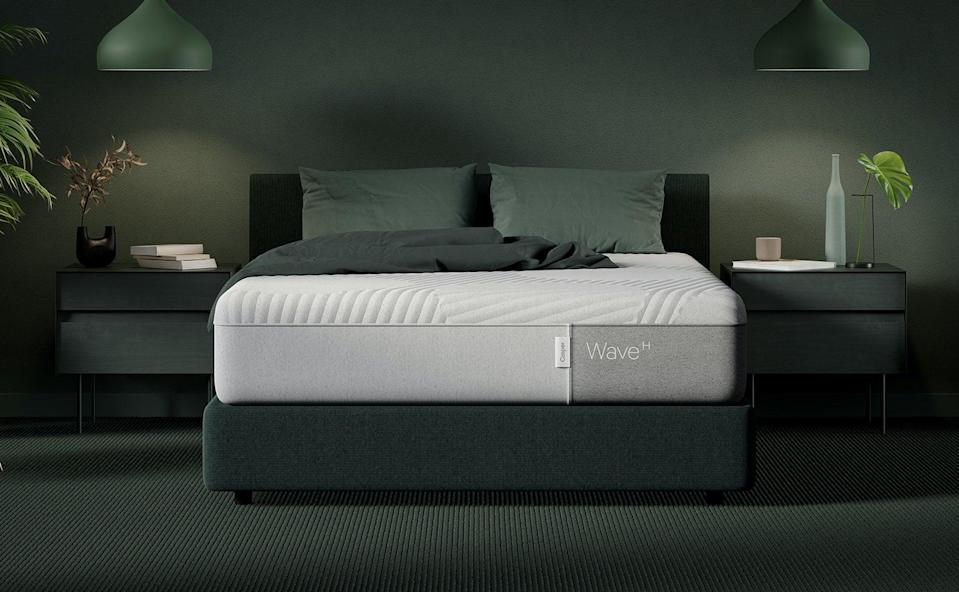 """<h2>Casper Wave Hybrid Mattress</h2><br>""""I often have trouble sleeping and also get back pain, so for me, there was no better investment than a high-quality mattress. I did my research and liked the idea of buying from a trusted brand with a good reputation, stellar reviews, and a 10-year warranty plan. After a week of sleeping on it, I know I made the right choice. My back hasn't been hurting and I have been sleeping so well, which translates to me having more energy for work and workouts during the day."""" – <a href=""""https://www.instagram.com/mkittyk/?hl=en"""" rel=""""nofollow noopener"""" target=""""_blank"""" data-ylk=""""slk:Melissa Katz"""" class=""""link rapid-noclick-resp""""><em>Melissa Katz</em></a><em>, Director Of SEO Content Strategy</em><br><br><em>Shop <strong><a href=""""https://fave.co/2VRl7rO"""" rel=""""nofollow noopener"""" target=""""_blank"""" data-ylk=""""slk:Casper"""" class=""""link rapid-noclick-resp"""">Casper</a></strong></em> <strong><em>with</em></strong> <em><strong>Use code ZZZ50 at checkout to get up to $100</strong></em><br><br><strong>Casper</strong> Wave Hybrid Mattress, $, available at <a href=""""https://go.skimresources.com/?id=30283X879131&url=https%3A%2F%2Ffave.co%2F2JUsM5P"""" rel=""""nofollow noopener"""" target=""""_blank"""" data-ylk=""""slk:Casper"""" class=""""link rapid-noclick-resp"""">Casper</a>"""