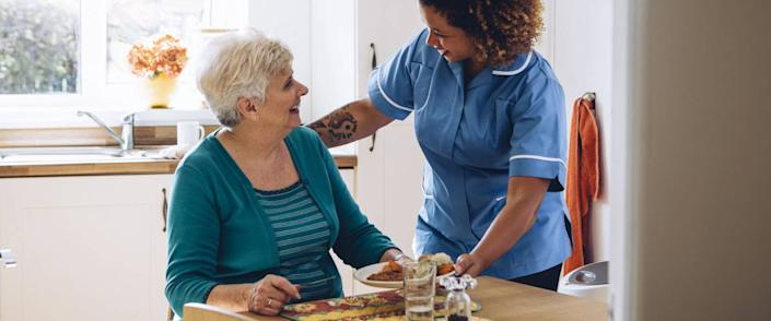 <cite>DGLimages / Shutterstock</cite> <br>Assisted living facilities offer independence for those desire it and assistance for those who need it.<br>