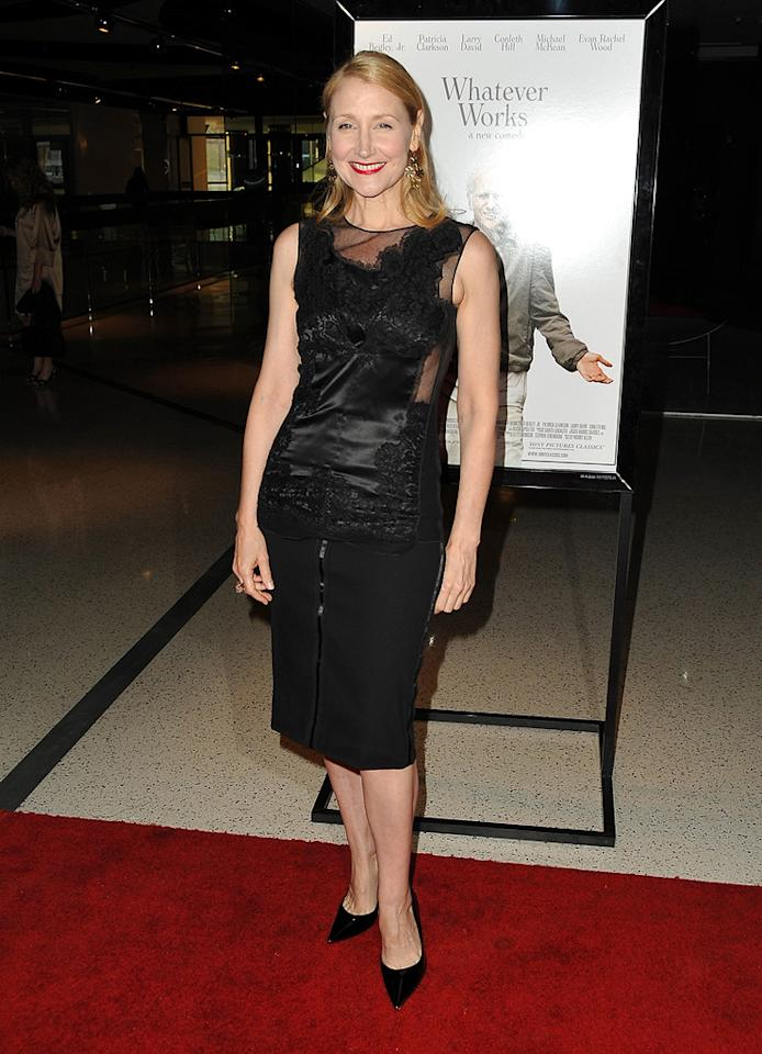 """<a href=""""http://movies.yahoo.com/movie/contributor/1800022307"""">Patricia Clarkson</a> at the Los Angeles premiere of <a href=""""http://movies.yahoo.com/movie/1810007788/info"""">Whatever Works</a> - 06/08/2009"""