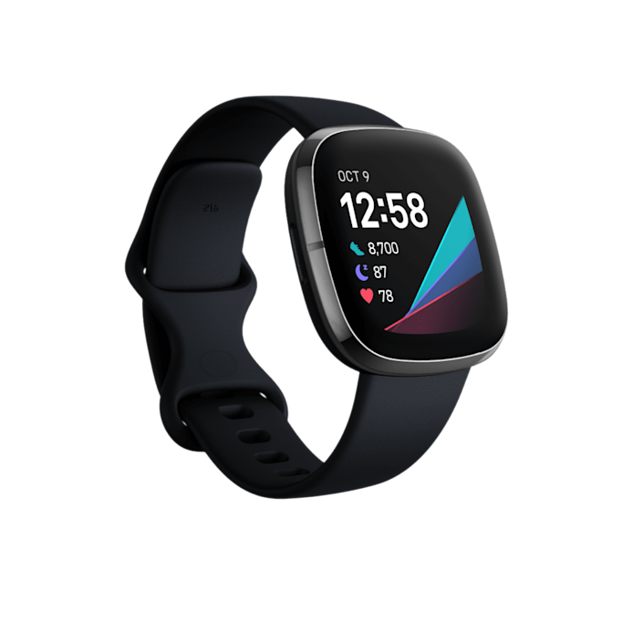 """<p><strong>fitbit</strong></p><p>fitbit.com</p><p><strong>$329.95</strong></p><p><a href=""""https://go.redirectingat.com?id=74968X1596630&url=https%3A%2F%2Fwww.fitbit.com%2Fglobal%2Fus%2Fproducts%2Fsmartwatches%2Fsense%3FCJEVENT%3Dea99a25c124611eb8363046e0a240613&sref=https%3A%2F%2Fwww.townandcountrymag.com%2Fleisure%2Fg13094996%2Fcool-tech-gifts%2F"""" rel=""""nofollow noopener"""" target=""""_blank"""" data-ylk=""""slk:Shop Now"""" class=""""link rapid-noclick-resp"""">Shop Now</a></p><p>Fitbit's latest is the Sense device—complete with the normal FitBit tracking features, but also a number of stress management tools as well as, skin temperature measurement, blood oxygen levels, as well as a compatible ECG map. Think of it as a the all encompassing health tracking device you need in your life. </p>"""