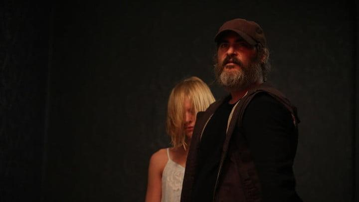 Frame de la película You Were Never Really Here