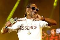 """<p>One of the many jobs Snoop Dogg reportedly had growing up was bagging groceries at a supermarket in L.A. However, <em><a href=""""https://www.usmagazine.com/celebrity-news/pictures/stars-fired-from-jobs-2012102/20660-2/"""" rel=""""nofollow noopener"""" target=""""_blank"""" data-ylk=""""slk:Us Weekly"""" class=""""link rapid-noclick-resp"""">Us Weekly</a></em> reports the rapper and Grammy nominee was fired because, in his own words, he """"was better at stealing the groceries than I was at bagging them.""""</p>"""
