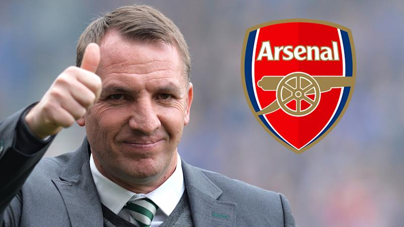 Celtic-Teammanager Rodgers schließt Arsenal-Engagement aus