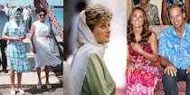 "<p>Even the royal family needs some R&R from time to time. Safaris in the valleys of Africa, skiing in the Alps, catching waves off islands in the Caribbean—royals know how to take advantage of their vacation days. <a href=""https://abcnews.go.com/Entertainment/wireStory/queen-elizabeths-daughter-hardest-working-royal-67987394"" rel=""nofollow noopener"" target=""_blank"" data-ylk=""slk:According to ABC News"" class=""link rapid-noclick-resp"">According to ABC News</a>, members of the royal family worked an average of 85 days in 2019, which is about one-third of the 253 days that normal citizens of the U.K. work. (Fun fact: For the third year in a row, Princess Anne is the hardest working royal, working a total of 167 days out of the 365 calendar year.) As for this past year, the family worked 761 days in total. That's not even including all the off-the-record engagements they may have had to take for personal reasons. So when they really need to get away, the royals go all out. From lavish trips to Spain to the Bahamas, feast your eyes on just a few of the Windsor's most envy-inducing vacations, ahead. </p>"