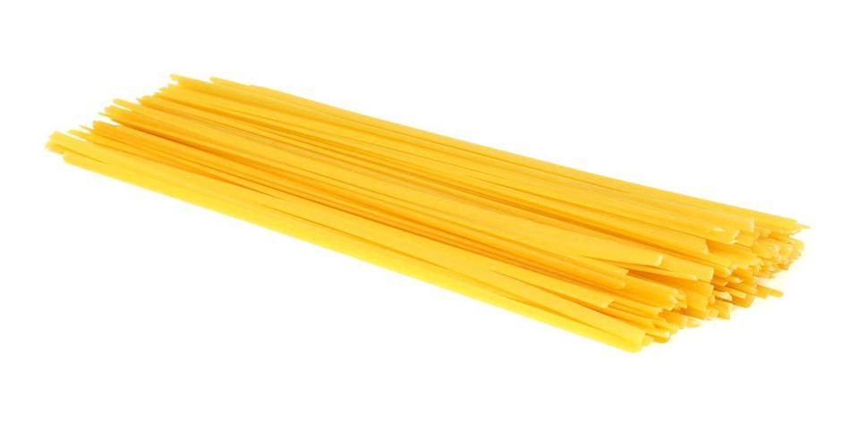 <p><strong>Category: </strong>Ribbon pasta<br><strong>Pronunciation: </strong>Lin-gwee-nee<br><strong>Literal meaning: </strong>Little tongues<br><strong>Typical pasta cooking time: </strong>9-13 minutes</p>